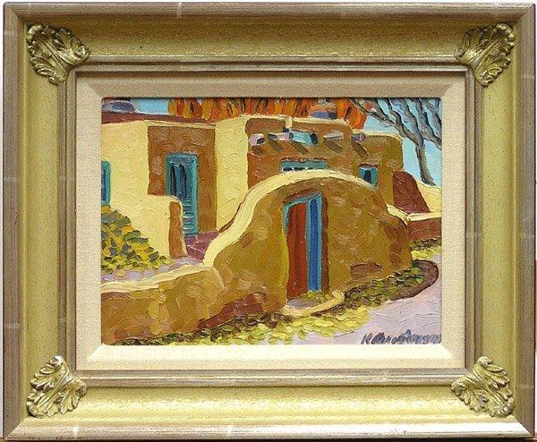 2006: Painting Christensen Santa Fe