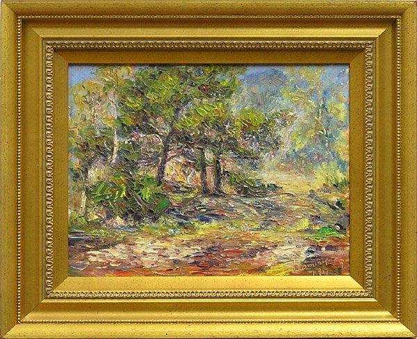 2007: Painting Dominique Landscape