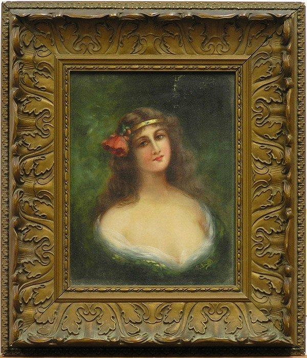 2010: Painting Portrait European