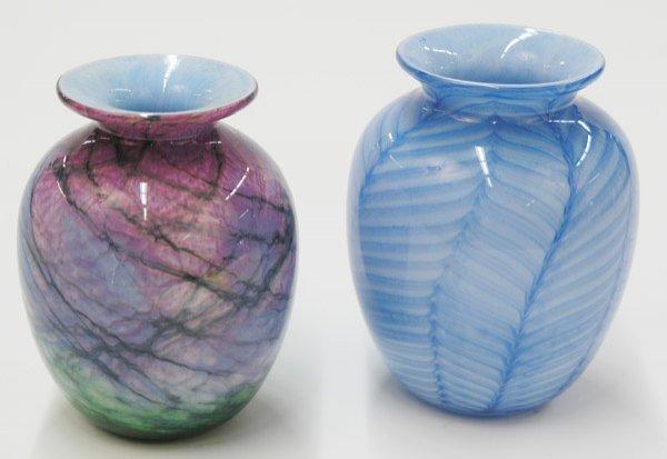 2017: Contemporary art glass vases