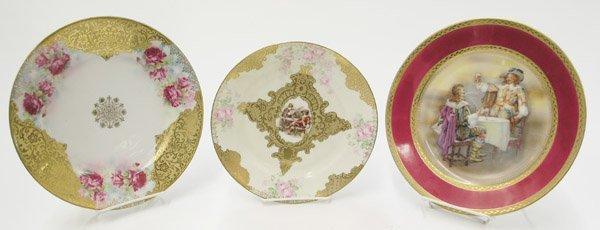 2020: Royal Bayreuth cabinet plates