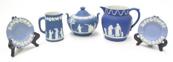 2023: Wedgwood porcelain jug bowl ashtray