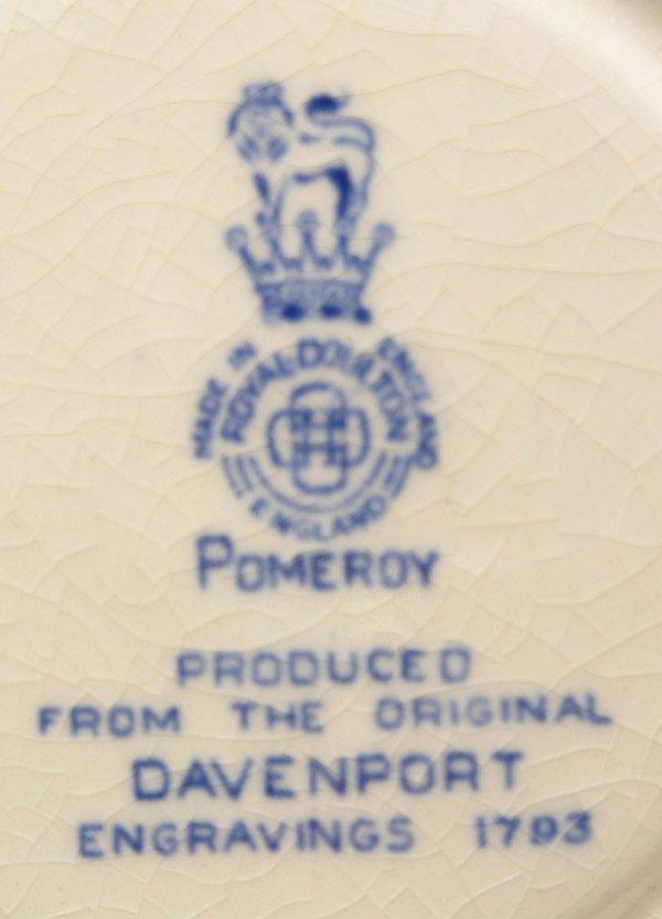 2079: Royal Doulton Pomeroy cream soups - 4