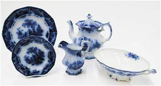 2083: English flow blue ironstone