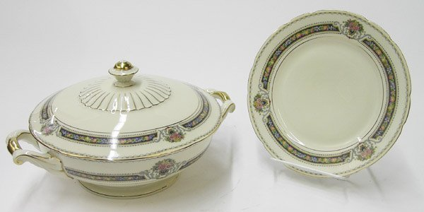 2090: KPM porcelain ''Royal Ivory'' dinnerware - 4