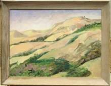 2143: painting Louise Noack Gray Californian