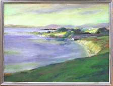 2172: painting Louise Noack Gray Californian