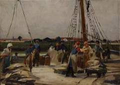 Painting, Paul Michel Dupuy