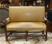 Ralph Lauren Jacobean style settee