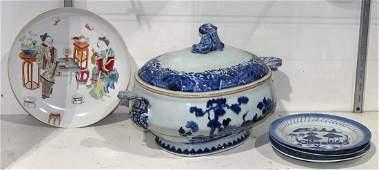 Chinese Enameled Export Ceramics