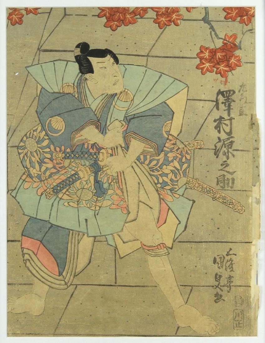 Japanese Woodblock Print, Utagawa Kunisada, 19c