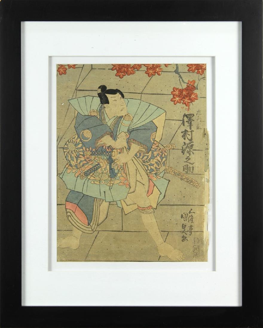 Japanese Woodblock Print, Utagawa Kunisada, 19c - 2