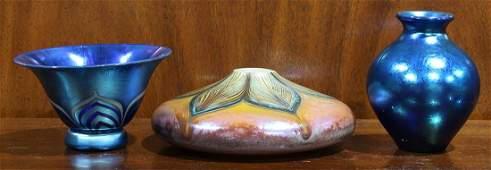 Art glass vessel group