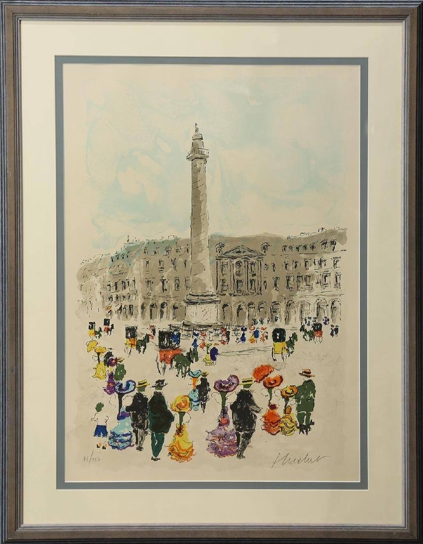 Print, Place de la Concorde