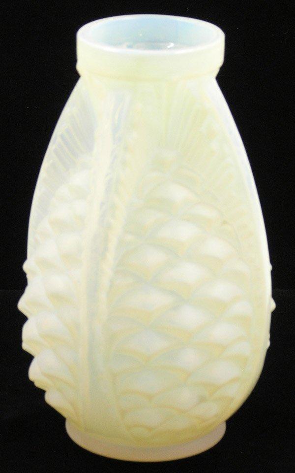 6015: Weller art pottery vases