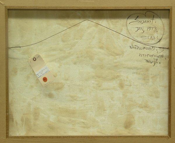 6581: Painting Sujarit Hirankul Thai Asian - 5