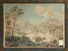 Watercolor, European School (18th century)