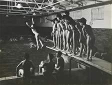 Photograph, Eliot Elisofon, Nude Boys at the Pool, For