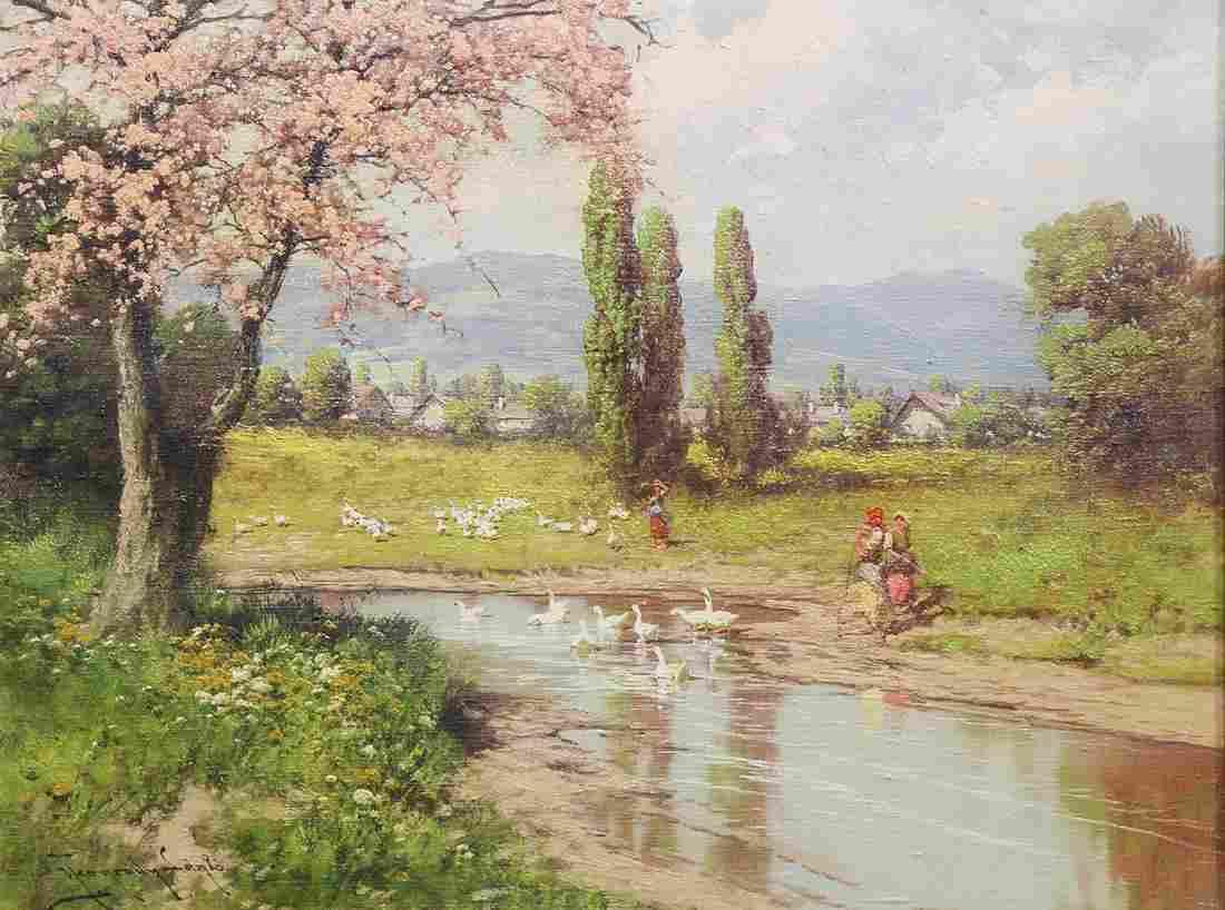 Painting, Laszlo Neogrady