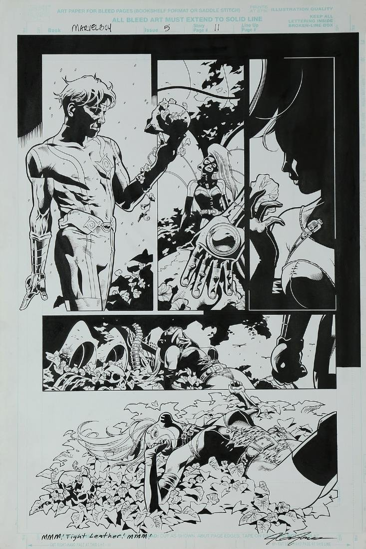 Comic Book Illustration, JG Jones, Marvel Boy