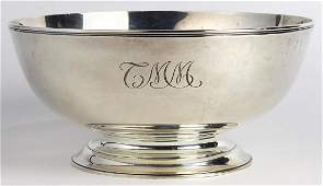 Tiffany  Co sterling silver reproduction centerpiece