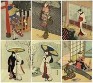 Japanese Woodblock Prints, Suzuki Harunobu