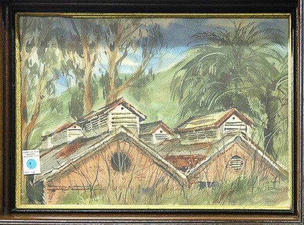6: Watercolor Ted Harpainter Californian
