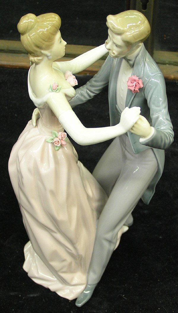 11: Lladro figural of a couple dancing