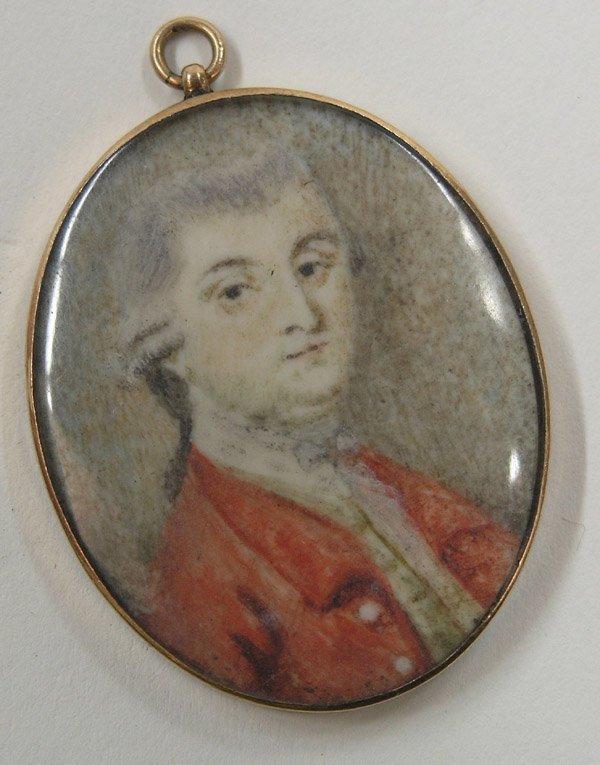 20: Continental School portrait miniature