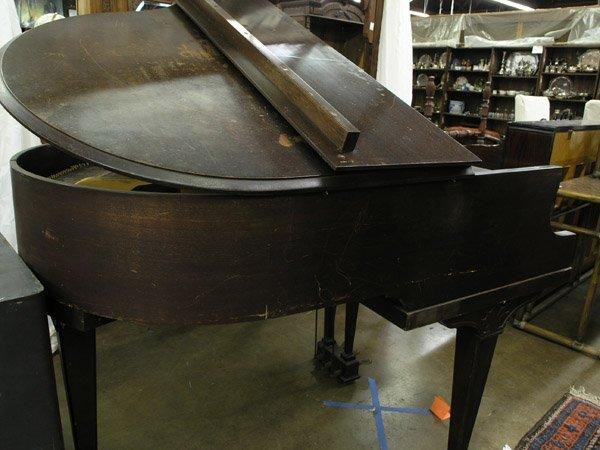 209: Bush, Lane mahogany baby grand piano - 3