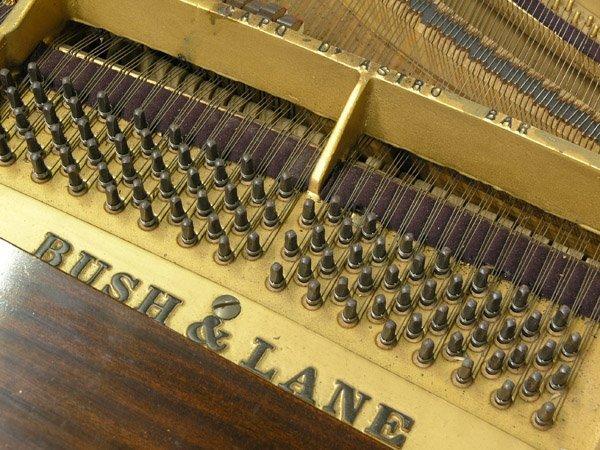 209: Bush, Lane mahogany baby grand piano - 5