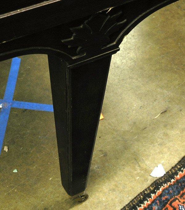 209: Bush, Lane mahogany baby grand piano - 6
