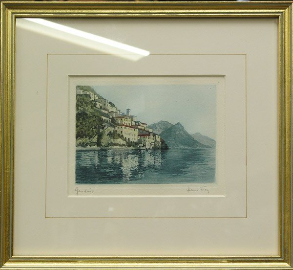 2006: Aquatint German Landscapes print