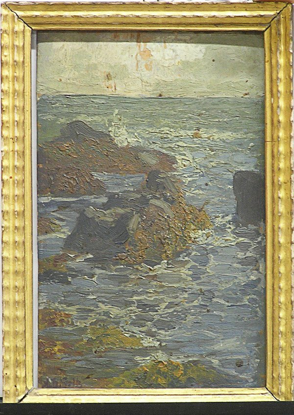 2010: Painting, Goltz, European, Seascape