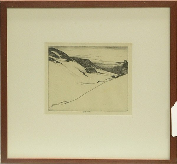 2015: Etching Landscape Partridge California