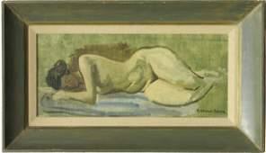 2214: Painting, Raphael Soyer, American