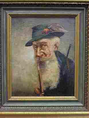 Oil, Portrait of Man, Noyk