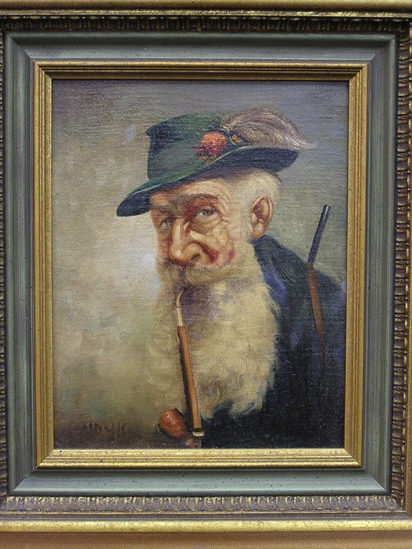 6001: Oil, Portrait of Man, Noyk