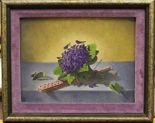 Oil, Floral studies, Alexis Pencovic