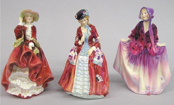 6010: Royal Doulton porcelain figures