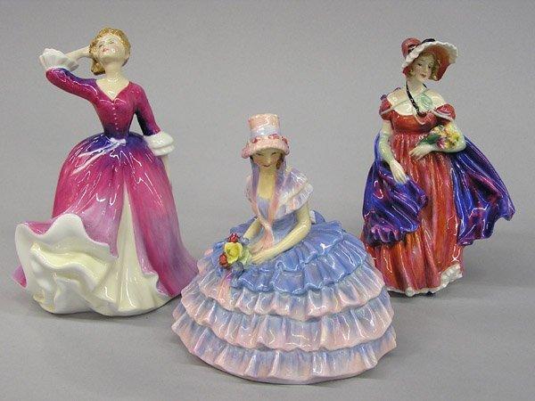 6011: Royal Doulton porcelain figures