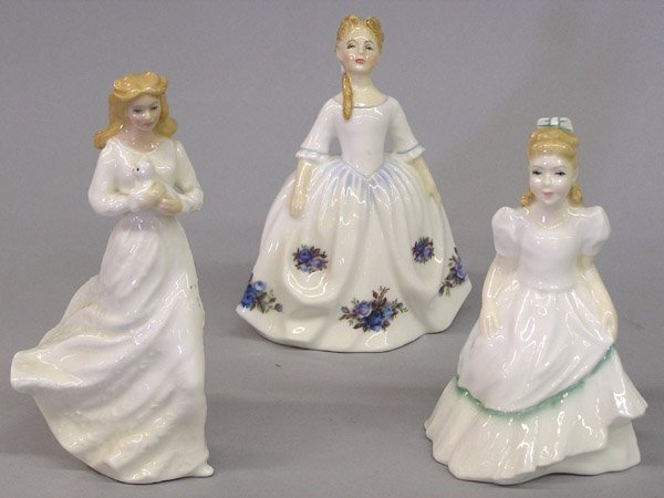 6016: Four Royal Doulton Figurines of 18th C. youth