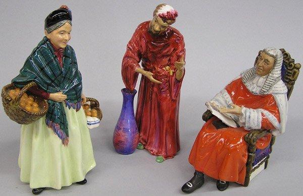 6017: Royal Doulton porcelain figures