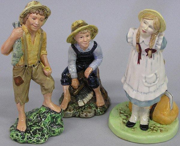 6018: Royal Doulton porcelain figures