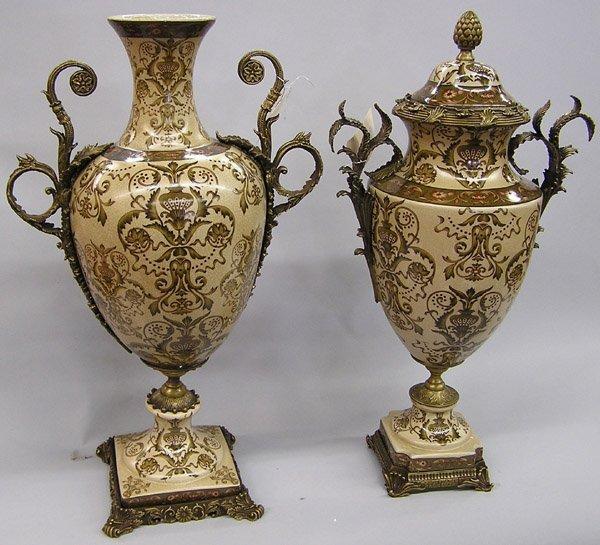 6020: 2 palace size urns