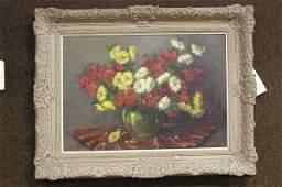 6253: H. Vissers 20th c. Dutch oil painting