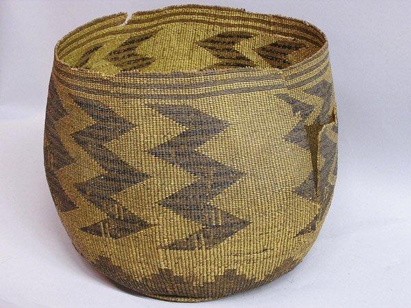 6268: Native American basket, poss. Klamath
