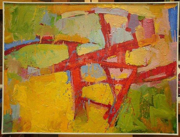 6405: Reed Farrington oil painting California