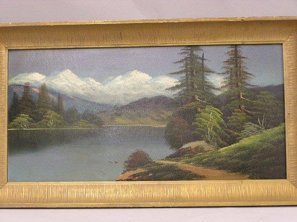 4002: Rubicon Peaks, Lake Tahoe, painting