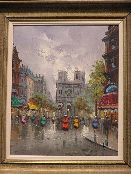 4006: Oil/canvas, European Scene